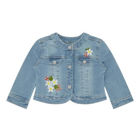 Embroidered Denim Jacket Baby, ${color}