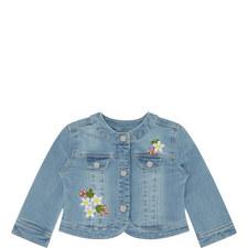 Embroidered Denim Jacket Baby