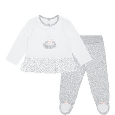 Two-Piece Bunny Top & Leggings Baby