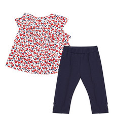 Two-Piece Poppy Top and Leggings Set Baby