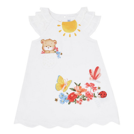 Printed Swing Dress Baby, ${color}