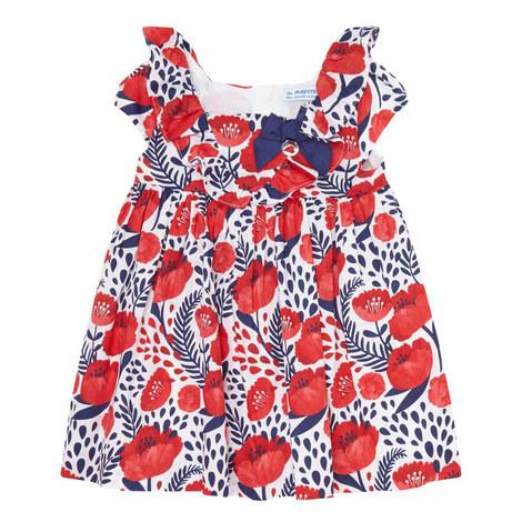 Poppy Print Dress Baby, ${color}