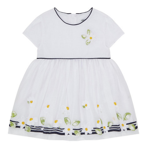 Daisy Embroidered Dress Baby, ${color}