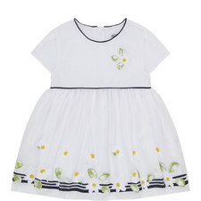 Daisy Embroidered Dress Baby