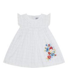 Floral Grid Dress Baby