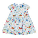 Floral Pleated Dress Baby, ${color}