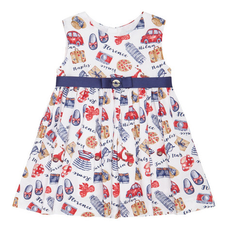 Italy Print Dress Baby, ${color}
