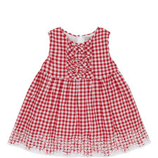 Gingham Ruffle Dress Baby