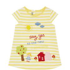 Sleeveless Striped Dress Baby