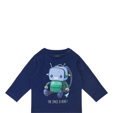 Spaceman Long-Sleeved T-Shirt Baby