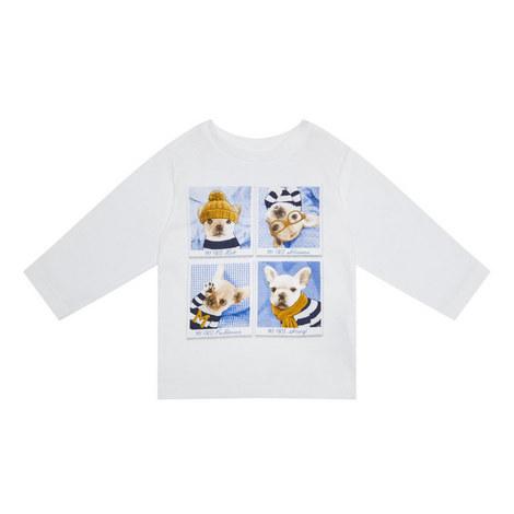 Dog Print T-Shirt Baby, ${color}