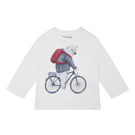 Polar Bear Bike T-Shirt Baby, ${color}
