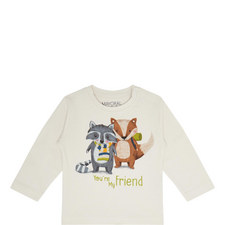 Forest Friends Top Baby