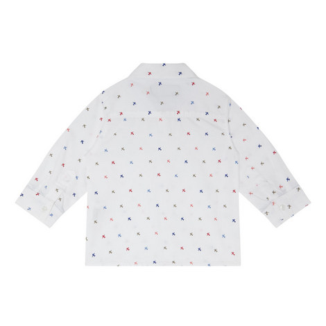 Aeroplane Print Shirt Baby, ${color}