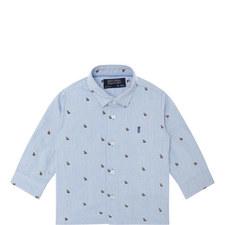 Bear Print Shirt Baby