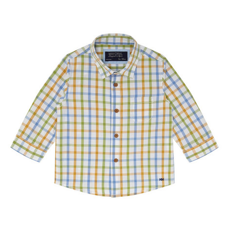 Check Pattern Shirt Baby, ${color}