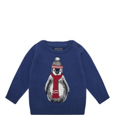 Penguin Sweater Baby