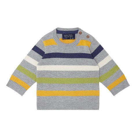 Multi-Stripe Sweater Baby, ${color}