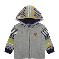 Knit Zip-Through Hoodie Baby