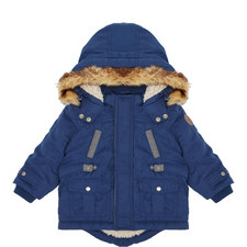 Faux Fur Hooded Coat Baby