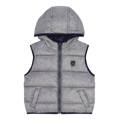 Reversible Quilted Gilet Baby, ${color}