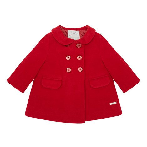 Double-Button Front Coat Baby, ${color}