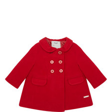 Double-Button Front Coat Baby