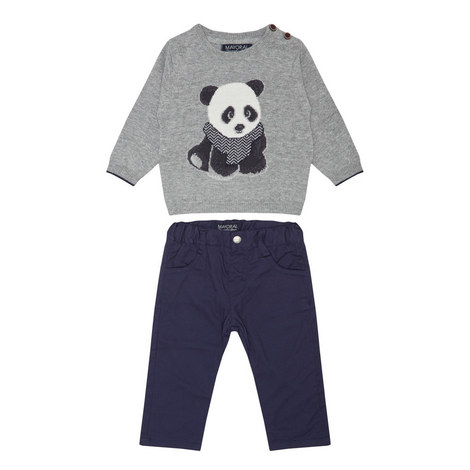 Two-Piece Panda Set Baby, ${color}