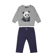Two-Piece Panda Set Baby
