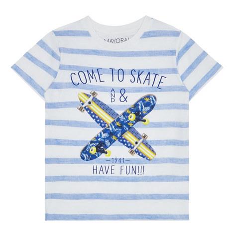Striped Skate T-Shirt Kids, ${color}