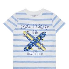 Striped Skate T-Shirt Kids
