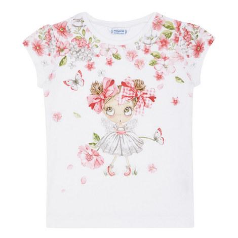 Floral Girl T-Shirt, ${color}
