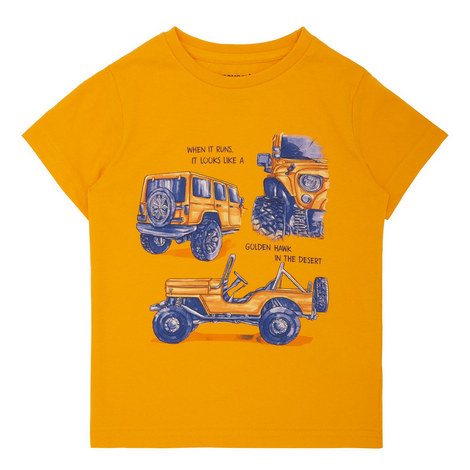 Truck Print T-Shirt, ${color}