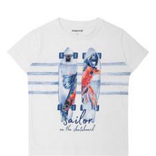 Sailor Skate Print T-Shirt