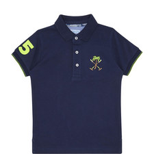 Trim Detail Polo Shirt