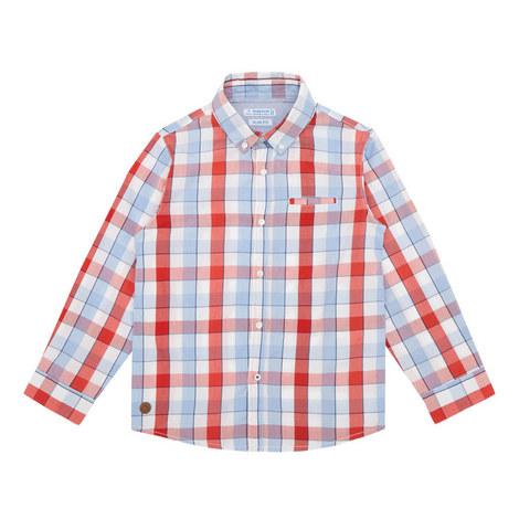 Slim Fit Check Shirt, ${color}