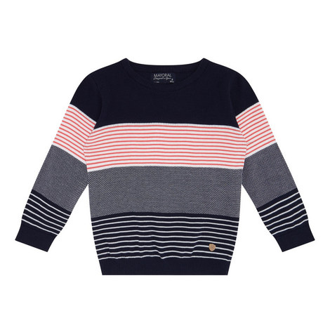 Textured Knit Sweater Kids, ${color}