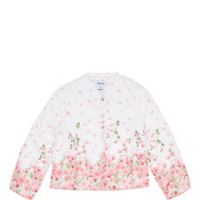 Floral Quilted Jacket Kids
