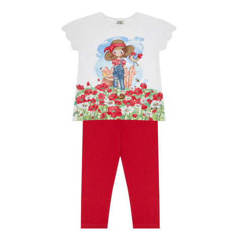 T-Shirt and Leggings Set Kids, ${color}