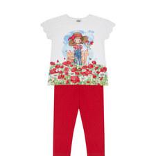 T-Shirt and Leggings Set Kids