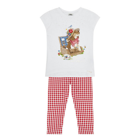 Puppy T-Shirt and Legging Set Kids, ${color}