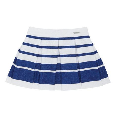 Floral Stripe Skirt Kids, ${color}