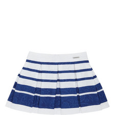 Floral Stripe Skirt Kids