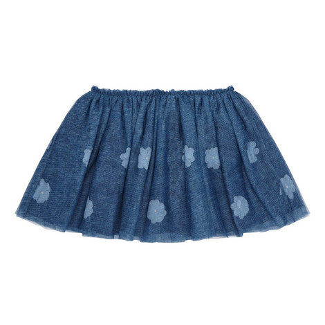 Floral Tulle Skirt Kids, ${color}