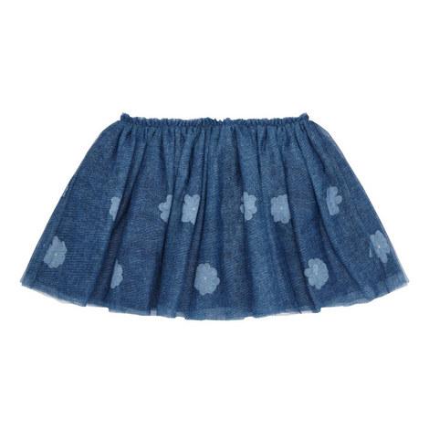 Floral Tulle Skirt Kids, ${color}