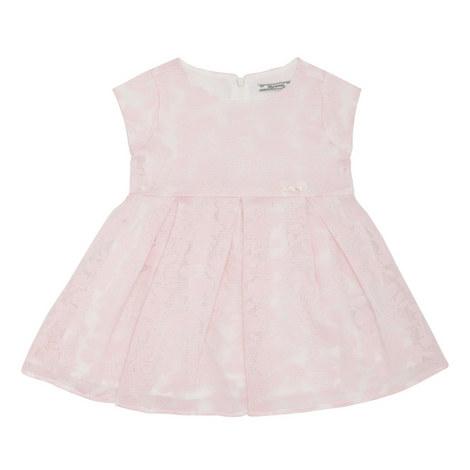 Mesh Floral Dress Kids, ${color}