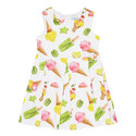 Ice-Cream Print Dress, ${color}