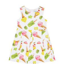 Ice-Cream Print Dress