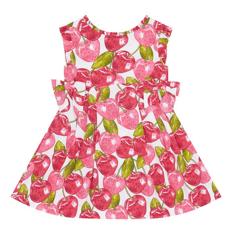 Cherry Print Dress, ${color}