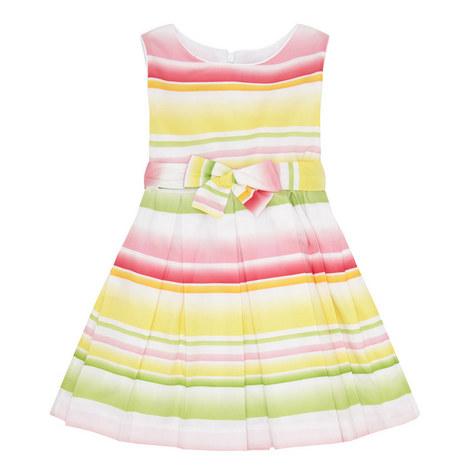 Multi-Stripe Dress, ${color}